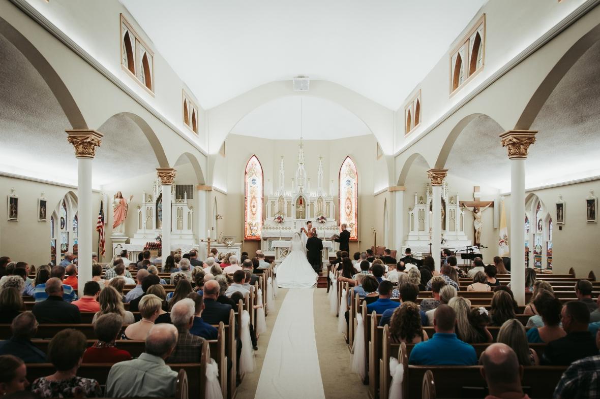 St. Martin of Tours Catholic Church Wedding