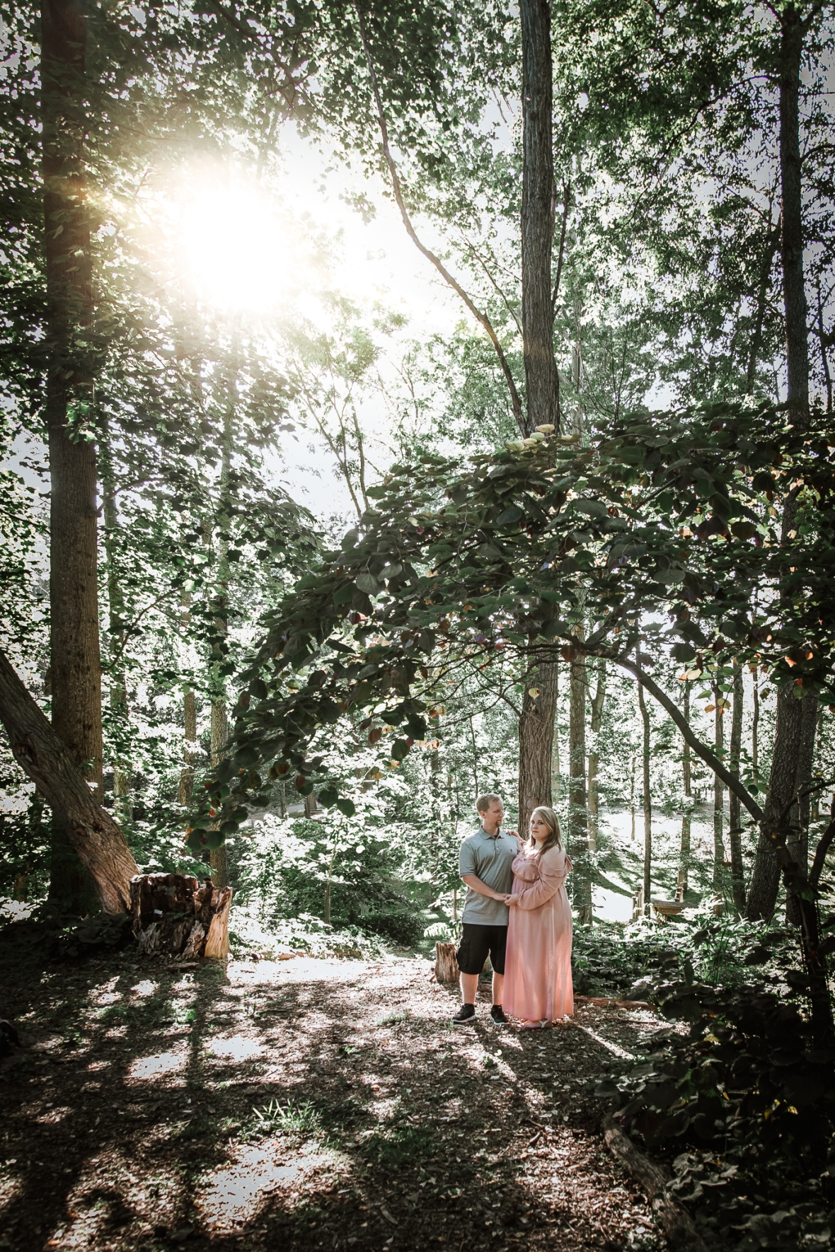 Creasey Mahan Nature Preserve Engagement Photos Goshen Kentucky