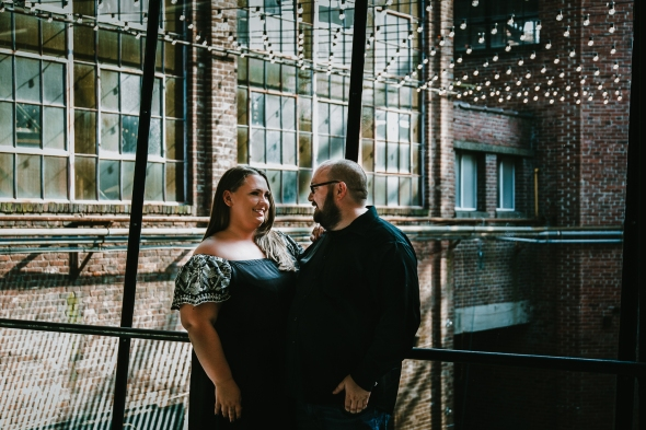 Mellwood Art Center Engagement Photos Louisville Kentucky