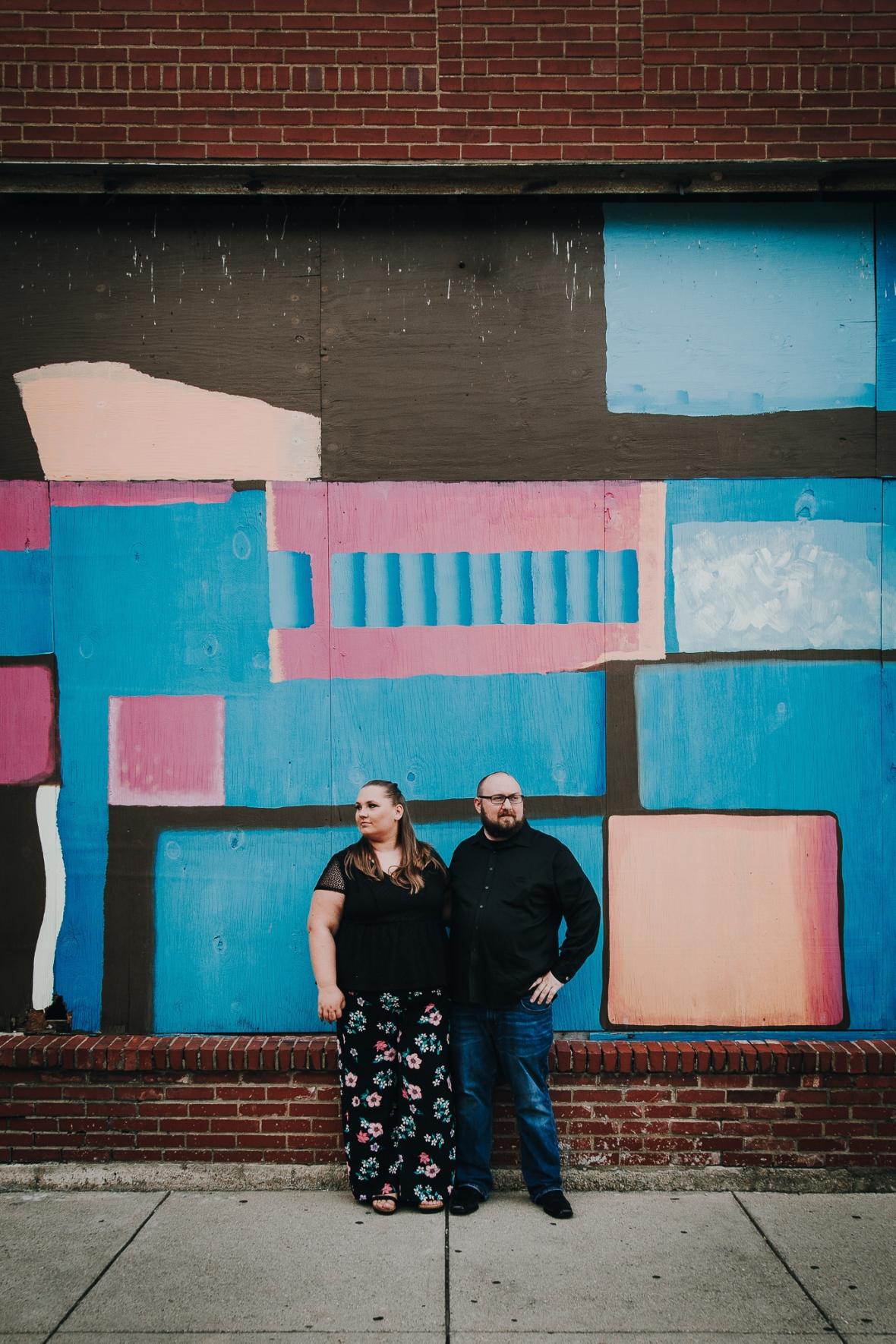 Mellwood Art Center Engagement Photos Louisville Kentucky