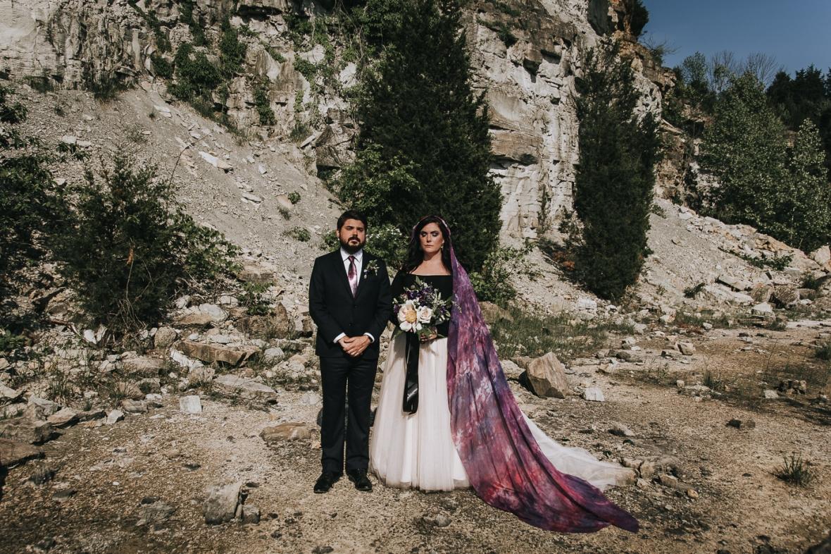 Galaxy Iridescent Wedding