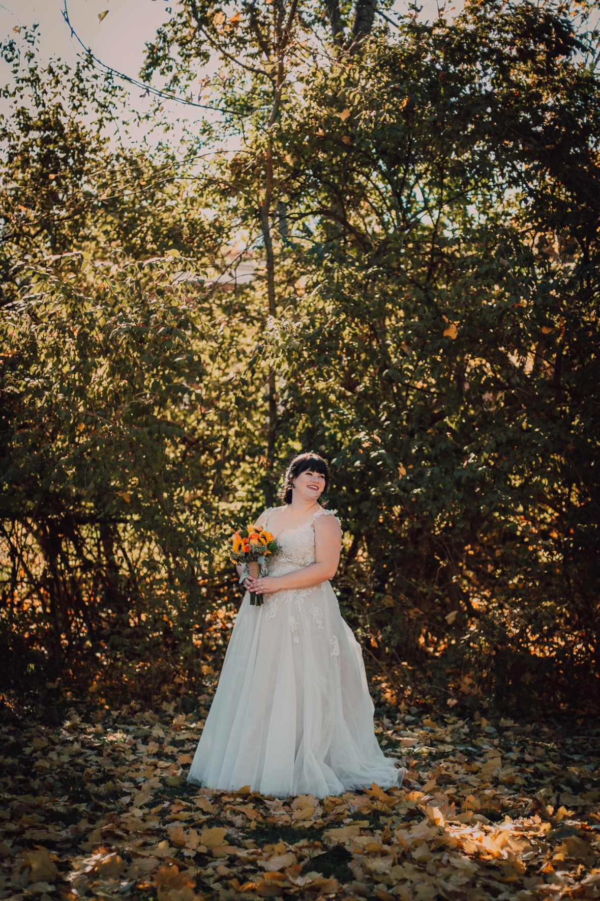 Anchorage Trail Wedding Photos