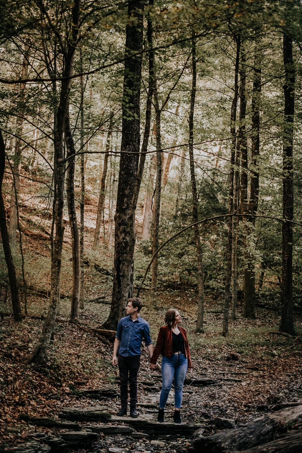 Bernheim Forest Louisville Engagement Photographer