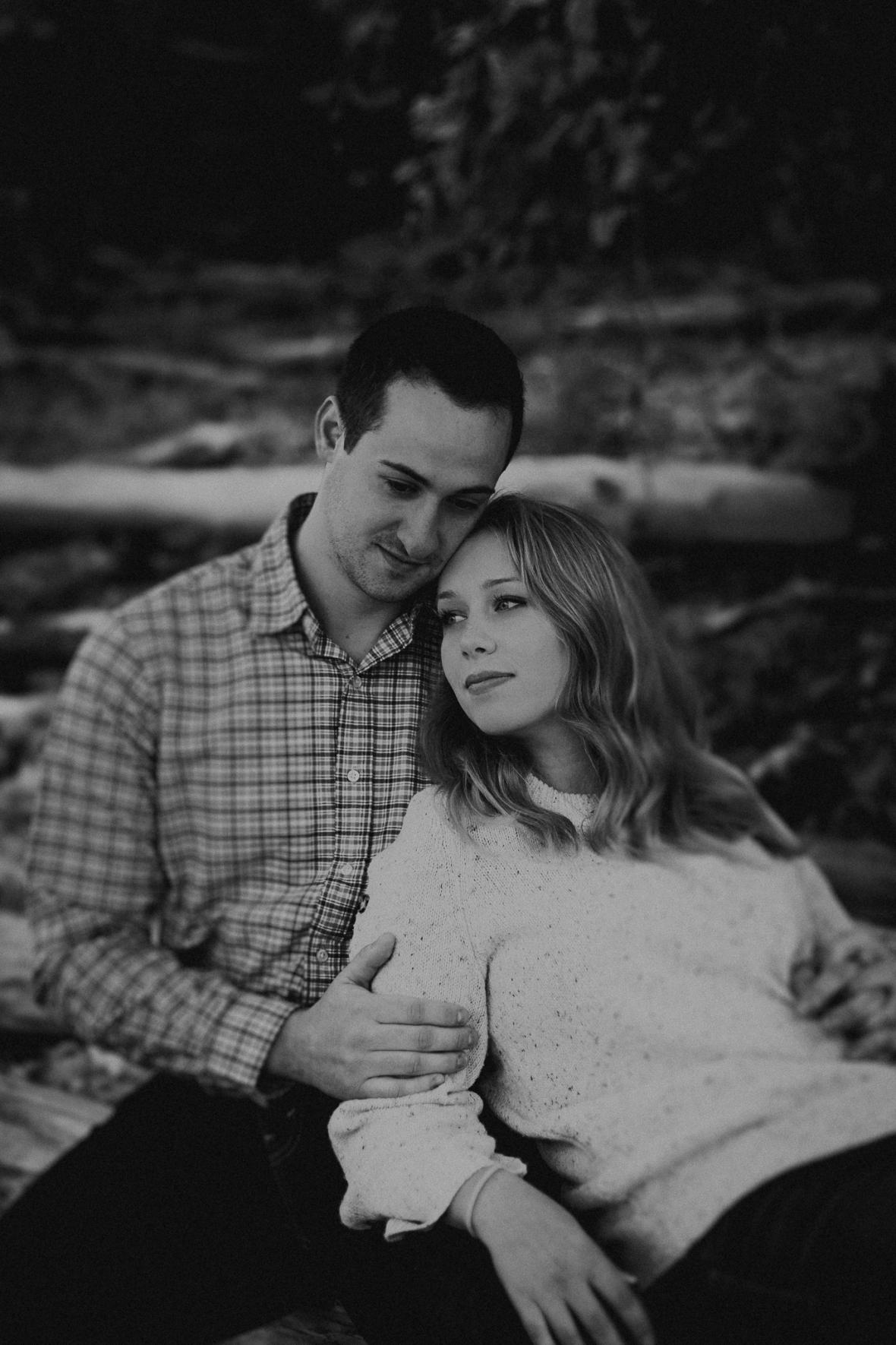 Falls of the Ohio Engagement Photos
